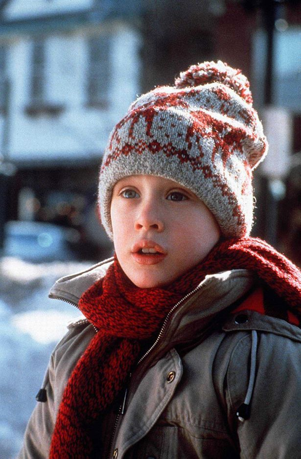 Macaulay Culkin in de film 'Home Alone'.
