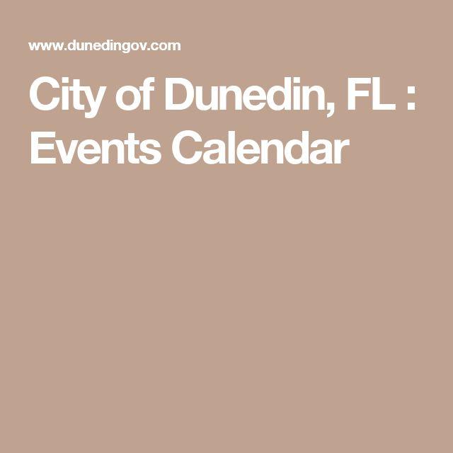 City of Dunedin, FL : Events Calendar