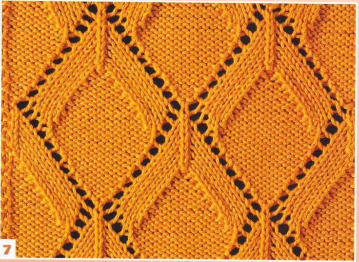 lace knit stitch