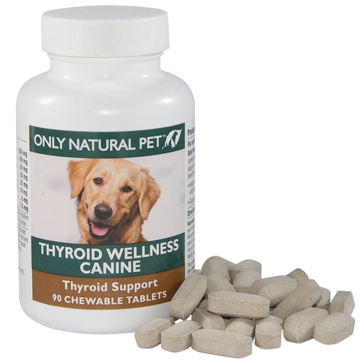 Canine thyroid wellness supplement for dogs 90 tablets