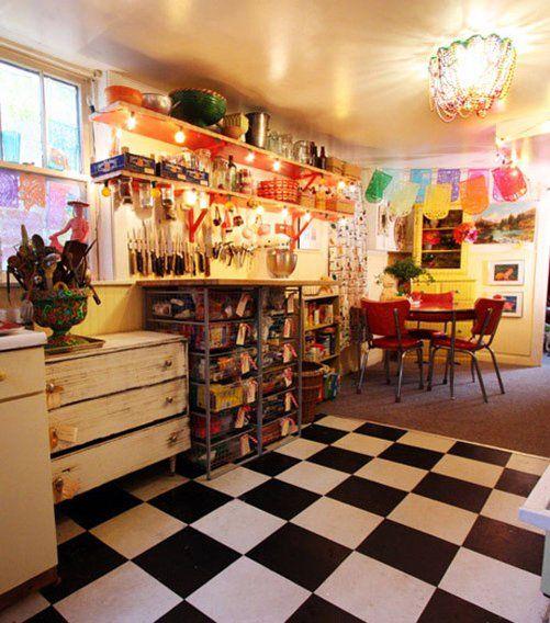whimsical kitchen
