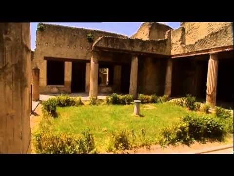 """Engelsk """"rundvisning"""" i huse og fortællinger fra Herculaneum"""