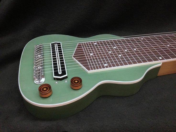 13 string slide guitar guitars without holes pinterest. Black Bedroom Furniture Sets. Home Design Ideas