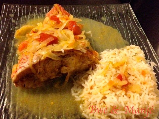 Court bouillon de poisson manj lokal caribbean food - Court bouillon poisson maison ...