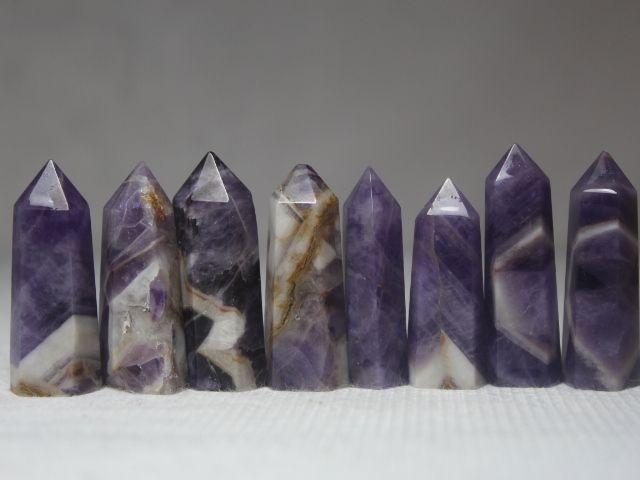 Goedkope (10 stks/partij) 100% natuurlijke Banded Chevron Droom Amethist quartz crystal punt wand, koop Kwaliteit   rechtstreeks van Leveranciers van China: welkom uw collectie1. hebben We genoeg supply.bent u welkom om.2. we oprecht samen met u.3. Onze rapid vervoer.fijne