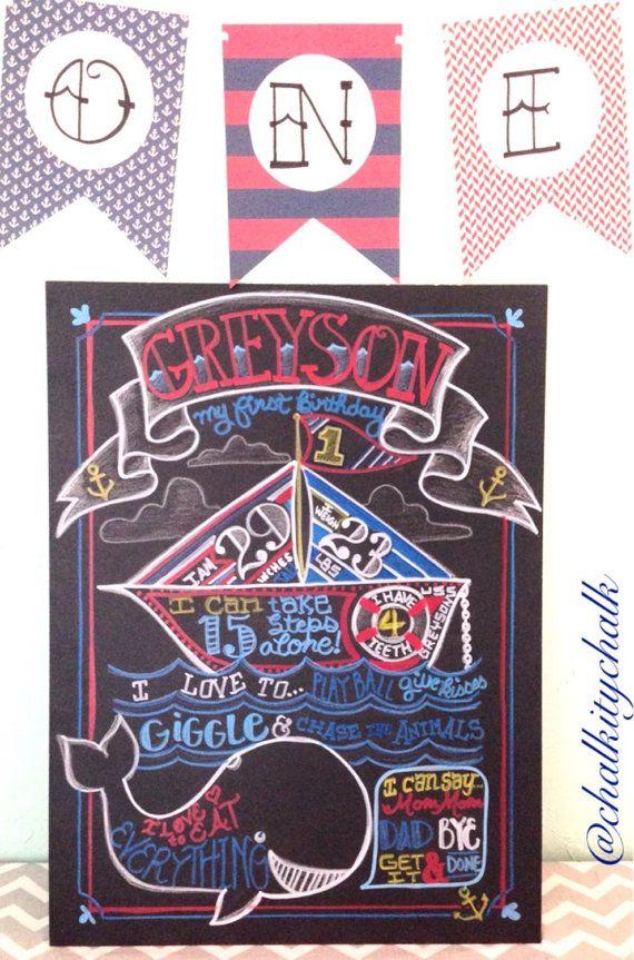 27 best Nautical Birthday Theme images on Pinterest | Nautical party ...