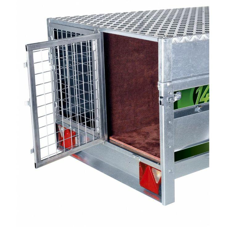 Remolque de tamaño mediano con prestaciones de remolque grande a precio muy competitivo. #remolque #trailcenter http://trailcenter.es/remolques/remolques-para-perros/daxara-148-magnum.html