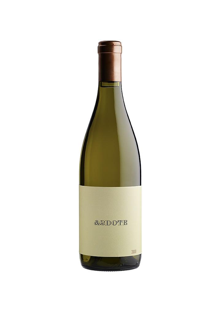 Antidote 2009, Viognier from Spring Mountain.  Spit Bucket original design (and garage wine)