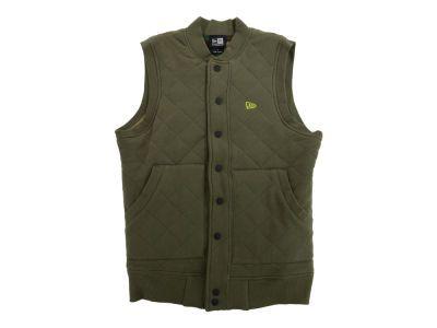 New Era Branded Quilted Fleece Vest