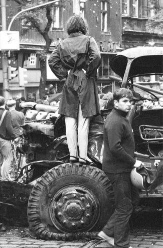 Srpen 1968 Václavské náměstí
