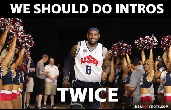 [Memes]  LeBron James Team USA Basketball Lustige Humor Pics | NBAHotShots.com …   – Basketball Life