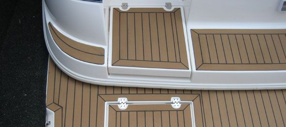 A reason to purchase boat flooring materials online is to save money. This is not just because you can easily search for teak wood for sale online but you can also compare different boat deck suppliers until you find one that is cheap enough.