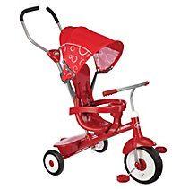 Tricycle poussette Radio Flyer 4-en-1 de luxe