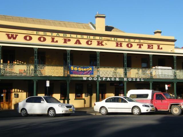 Woolpack Hotel, Mudgee