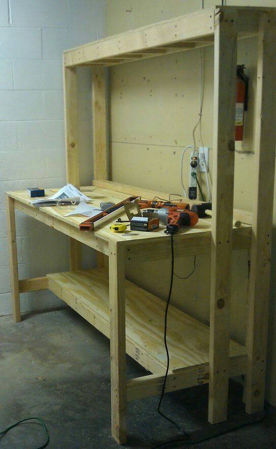 Build a work bench for the garage!