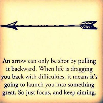 Focus and keep aiming.. motivational quotes #motivation