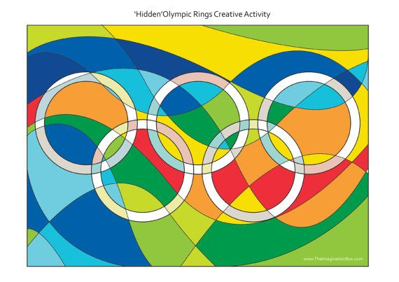 30 page Rio Olympic Games 2016 Art Activity by ImaginationBoxStore