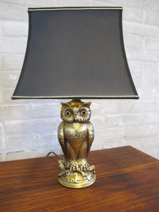 180 best images about owl lamps uilen lampen op pinterest. Black Bedroom Furniture Sets. Home Design Ideas