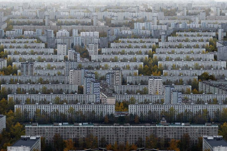 Moscow, Russia, 2008 by Marcus Lyon