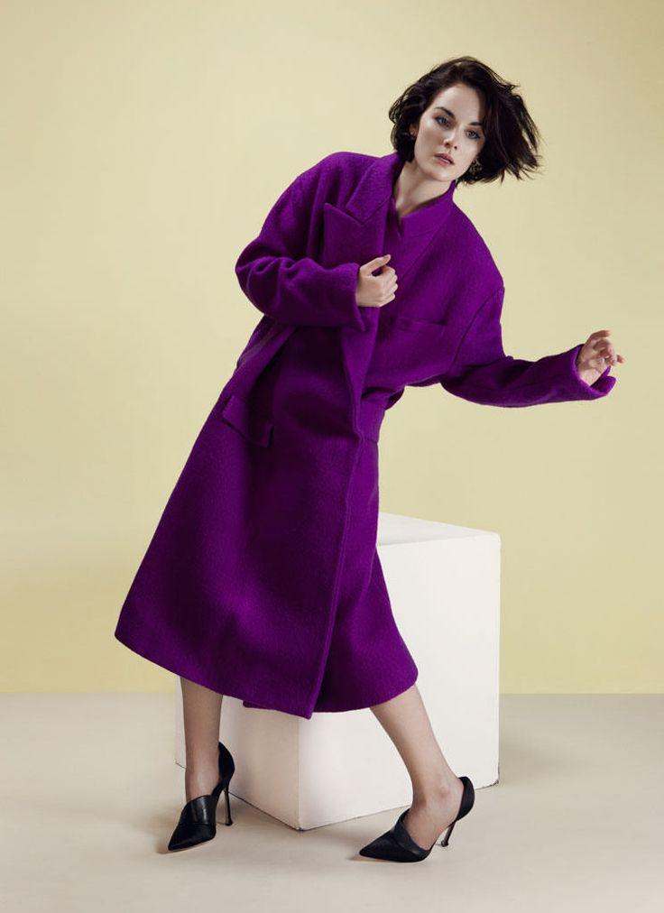 Мишель Докери — Фотосессия для «Style» 2013 – 2