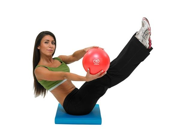 66 best images about Pilates mini ball on Pinterest