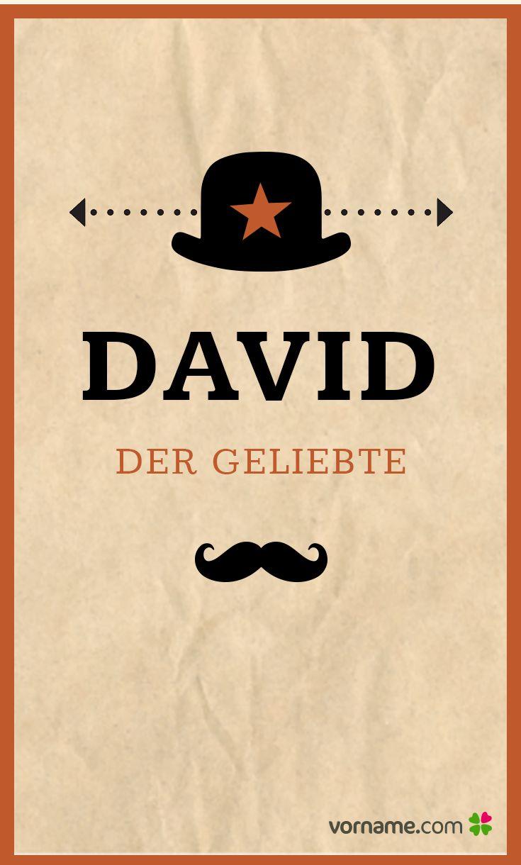 Bei dieser schönen Bedeutung kann man den Namen David nur mögen. Finde heraus, woher der beliebte Jungenname kommt, wann sein Namenstag ist und vieles mehr. Alle Infos zum Vornamen David auf Vorname.com entdecken!