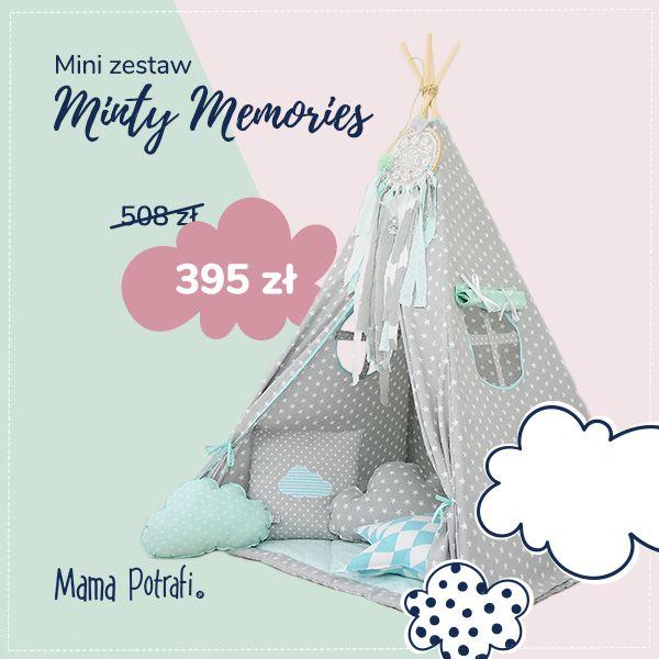 Uwaga, promocja! :) Śliczny namiot tipi tylko za 395 zł! ❤