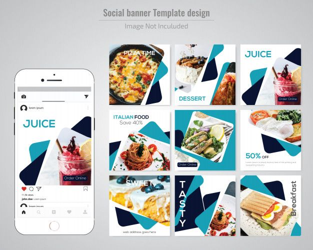 Food Social Media Post Template For Restaurant Social Media Post Restaurant Social Media Ideas Restaurant Social Media