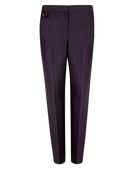 EBENT   Shiny lavanta suit trouser - Grape   Tailoring   Ted Baker