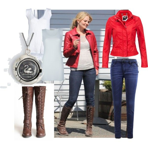 Emma Swan Outfit, created by missmerfaery on Polyvore