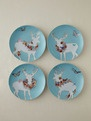 Rosanna Inc.  A Walk in the Woods Plates (Set of 4)  $29: Walks, Flowers Adorning, Walk In, Homes, Woods Plates, Plate Sets