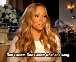 """The time Mariah tricked you into learning what """"despondency"""" was. 