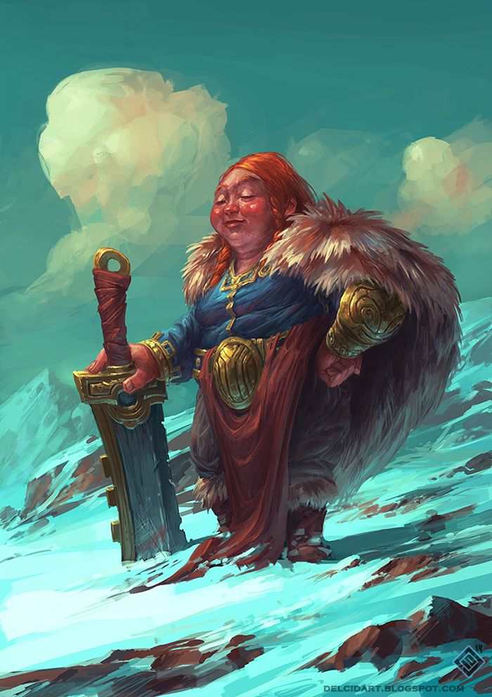 Proud Dwarf by EdCid.deviantart.com on @deviantART
