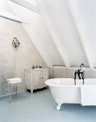 Vaulted Ceilings And Clawed Footed Bathtubs U003c3
