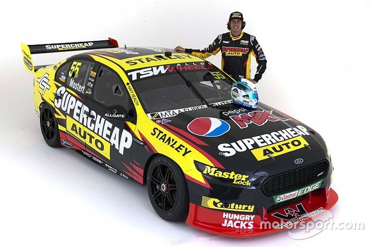 The latest Supercheap Auto-backed V8 Supercar has been revealed, with Prodrive Racing Australia taking the covers off of Chaz Mostert's Falcon.