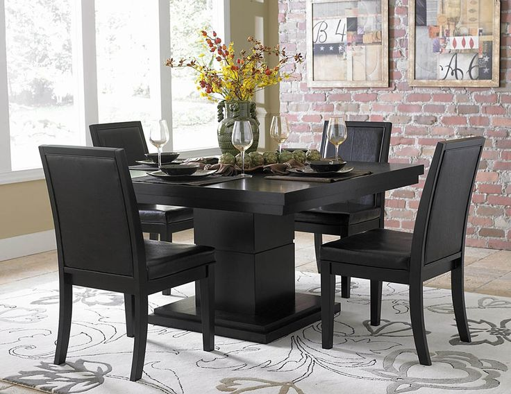 Awesome Round Dining Tables For 8+ | Dark Walnut Modern Round Dining Table W/Glass  Inlay | Inspiring Ideas | Pinterest | Round Dining Table, Dark Walnut And  Dining ... Photo Gallery
