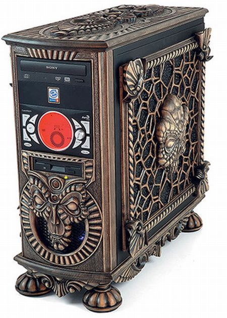 * Steampunk PC Case *                                                       …