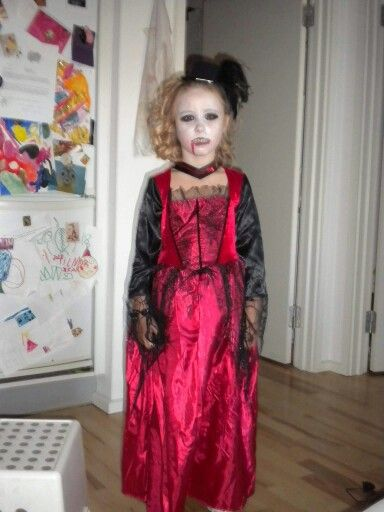 Vampyr prinsesse halloween 2010
