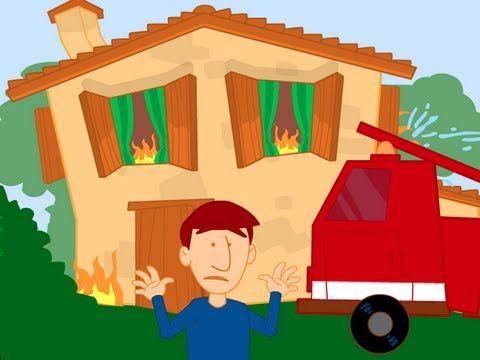 Chanson: Au feu les pompiers!
