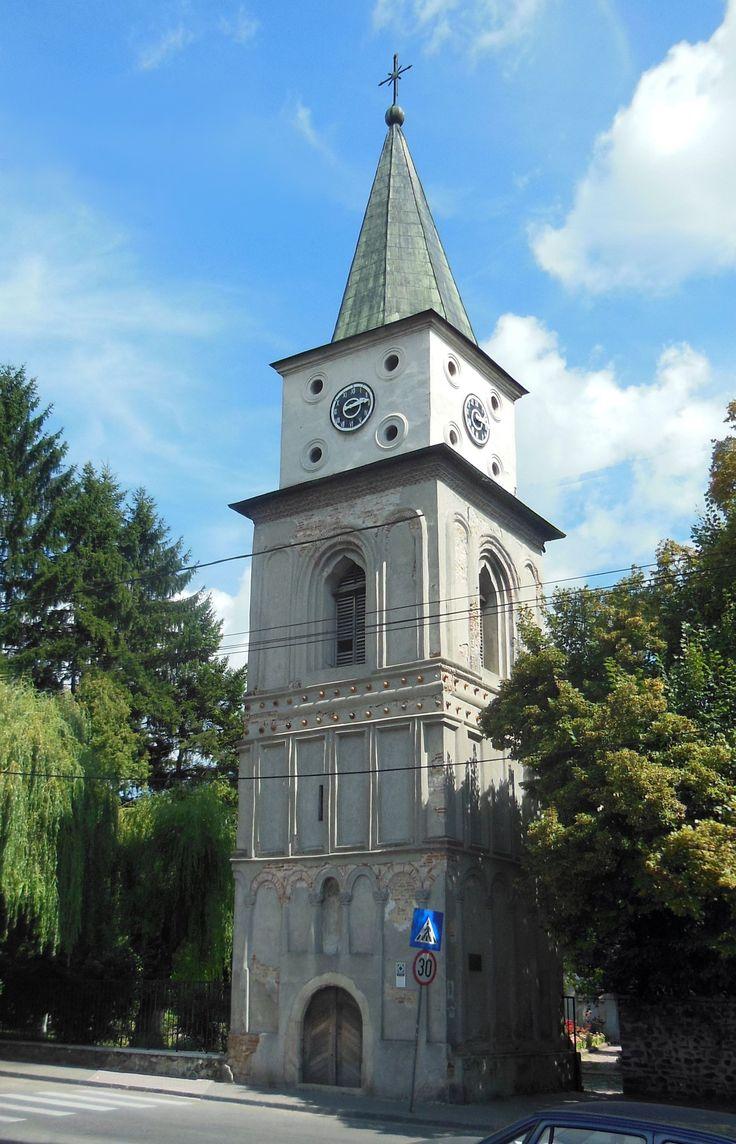 """Turnul Bărăției (1730), Strada Negru Vodă 116, Câmpulung // Ansamblul bisericii catolice """"Sfântul Iacob"""" - Bărăția"""