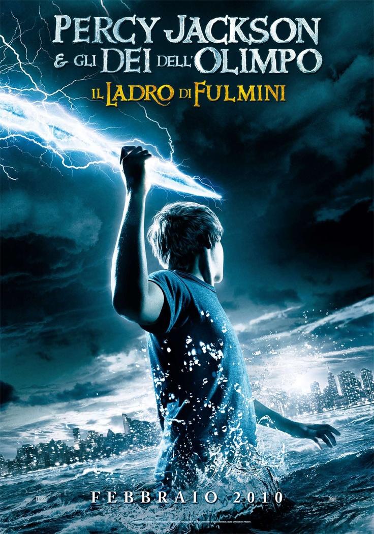 Percy Jackson e gli Dei dell'Olimpo: il Ladro di Fulmini #fantasy #percyjackson