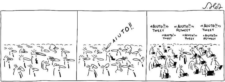 #Aiuto #vignetta #JoshuaHeld #help #sketch
