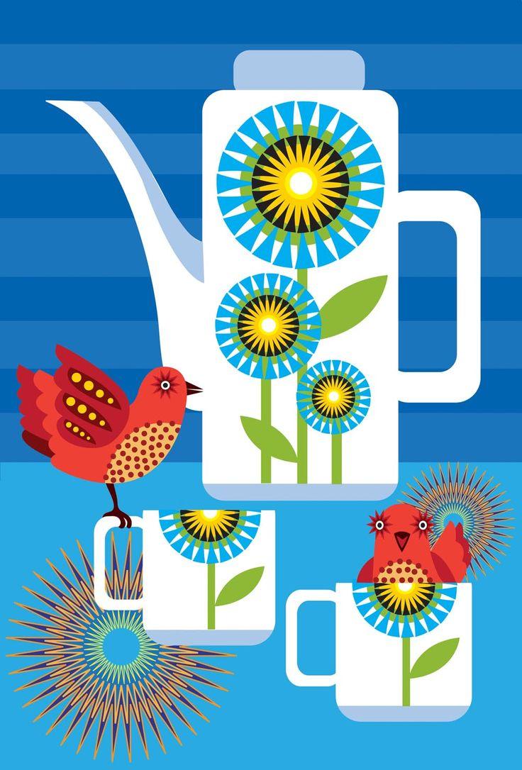 Festmenyek 3d ben 575 - Suzanne Carpenter Coffee Pot 1000 1476