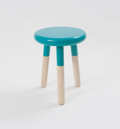 Malmo Stool in Teal