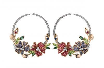 Серьги Damiani, коллекция Masterpiece, линия Springtime