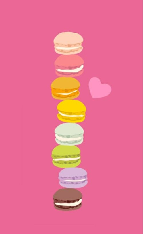 97 best macarons images on pinterest - Macaron iphone wallpaper ...