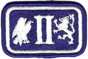 WorldMilitary - 2 Corps Patch. US Army