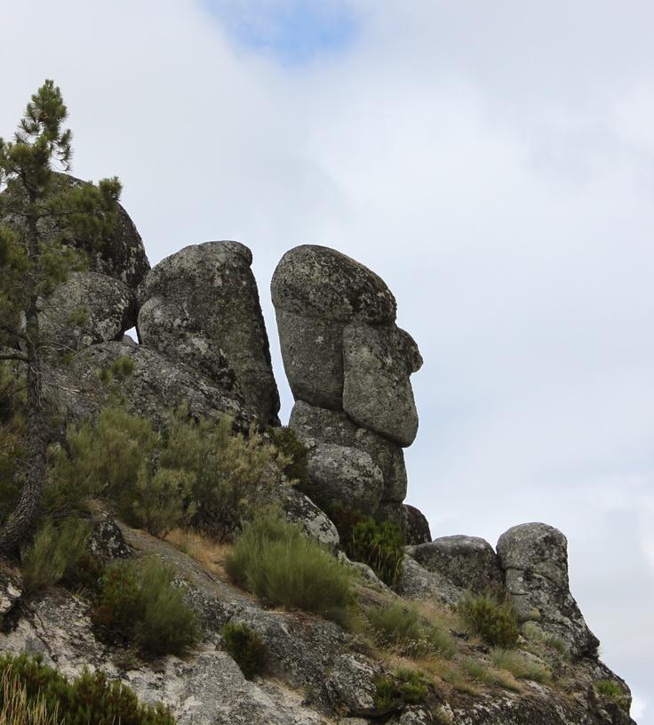 A montanha é uma grande elevação de terreno, como na Serra da Estrela, Portugal. Aqui o ar é muito frio ou muito quente e neva no Inverno. Há montanhas na Europa onde chega a nevar no Verão.