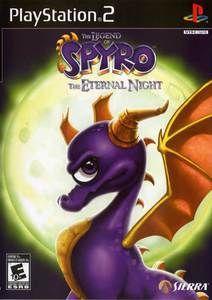 Legend of Spyro Eternal Night - PS2 Game