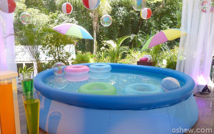 17 melhores imagens sobre festa na piscina praia no for Piscina party